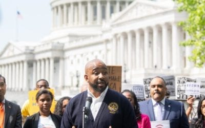 NAACP and Civil Rights Groups Hold Rally on the 65th Anniversary of Brown v. Board