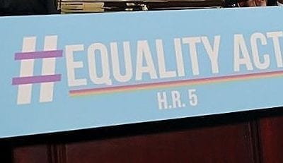 U.S. HOUSE PASSES THE NAACP-SUPPORTED EQUALITY ACT