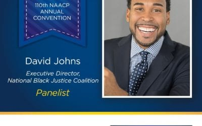 A message from David J. Johns, Executive Director, National Black Justice Coalition