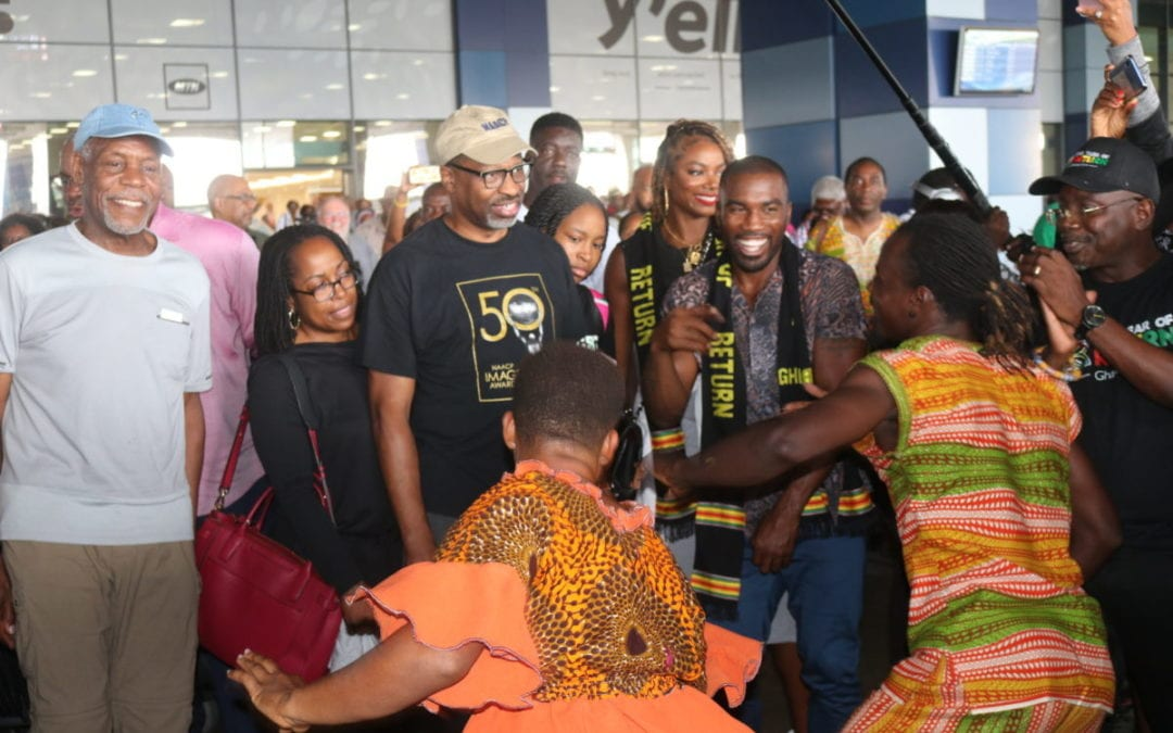 NAACP group arrives in Ghana exactly 400 years since first slaves were brought to U.S, Jamestown to Jamestown Day 3