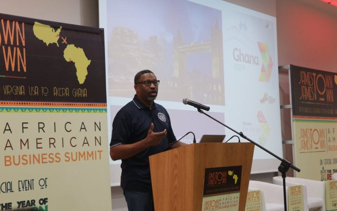 Business summit and city tours encourage year of return visitors to invest in Ghana on Day 4 of Jamestown to Jamestown