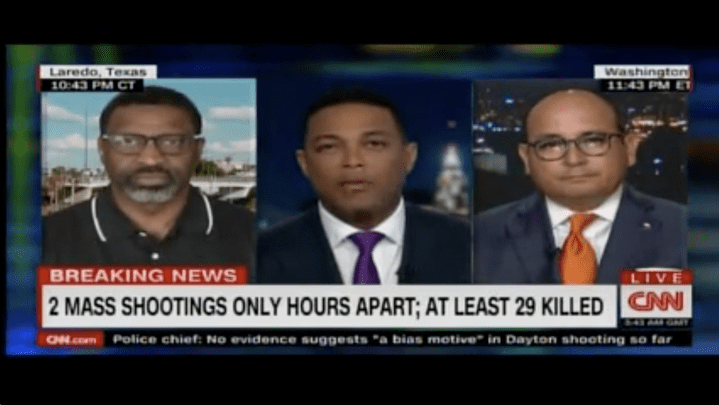 WATCH NOW: NAACP President Responds to El Paso Shooting on CNN
