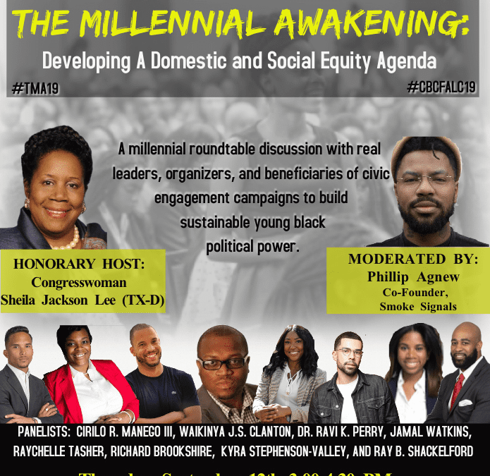 NAACP Youth and College Hosts Black Millennial Roundtable at CBC ALC 19.