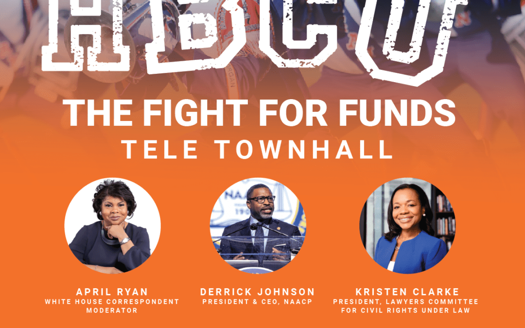 NAACP to Address the Underfunding of HBCUs across the U.S. on Upcoming Tele-Town Hall