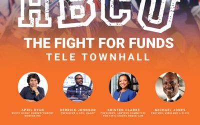 Listen Again: NAACP HBCU Tele Townhall