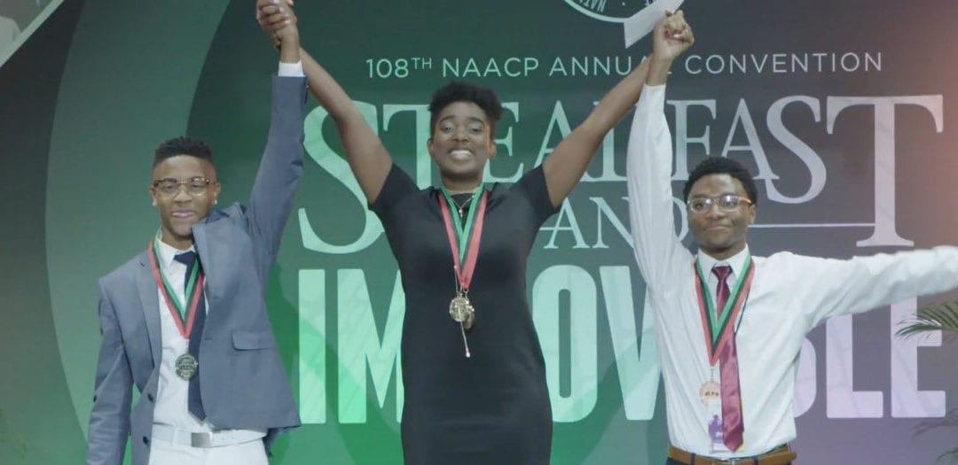 Local NAACP Students Appear in Google.org Ad