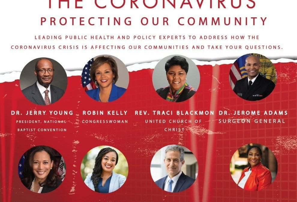 NAACP Tele Town Hall draws over 21,000 as Communities grapple with the impact of global Coronavirus pandemic