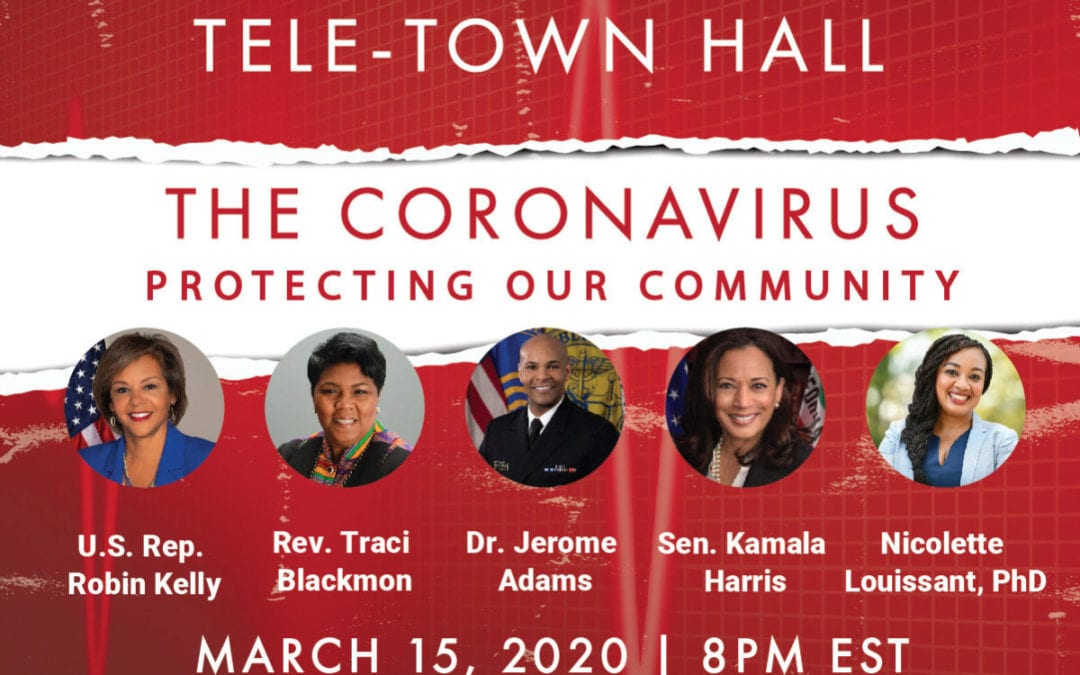 U.S. Surgeon General and leaders in Health & Policy join NAACP Emergency Tele Town Hall on Coronavirus