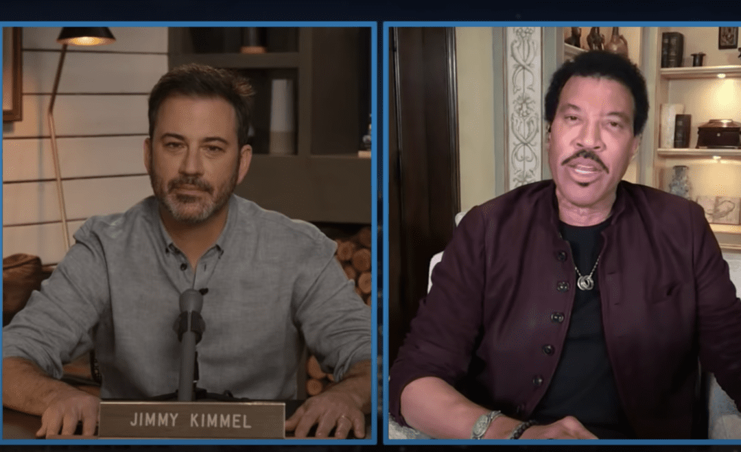 WATCH NOW: Lionel Richie Speaks on Importance of NAACP on Jimmy Kimmel Live