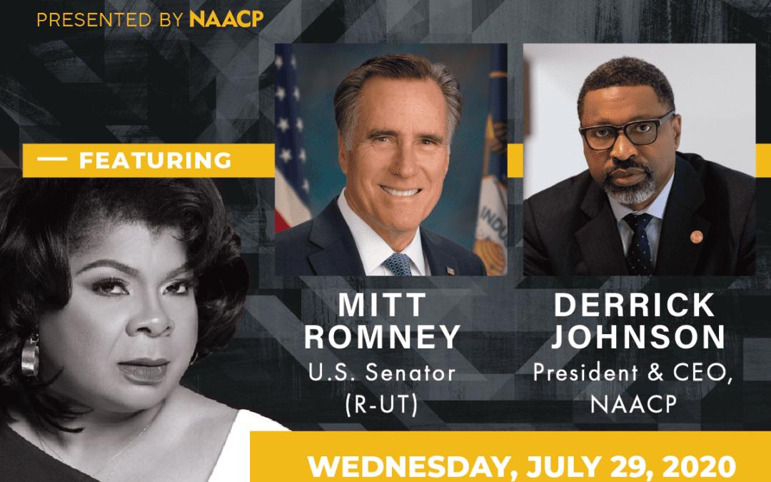 RECAP: NAACP Hosted Virtual Town Hall Featuring Senator Mitt Romney