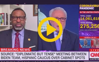 NAACP President and CEO, Derrick Johnson, Speaks with Wolf Blitzer on Upcoming Biden Meeting