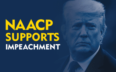 NAACP President and CEO, Derrick Johnson, Issues Statement on Second Impeachment of President Trump