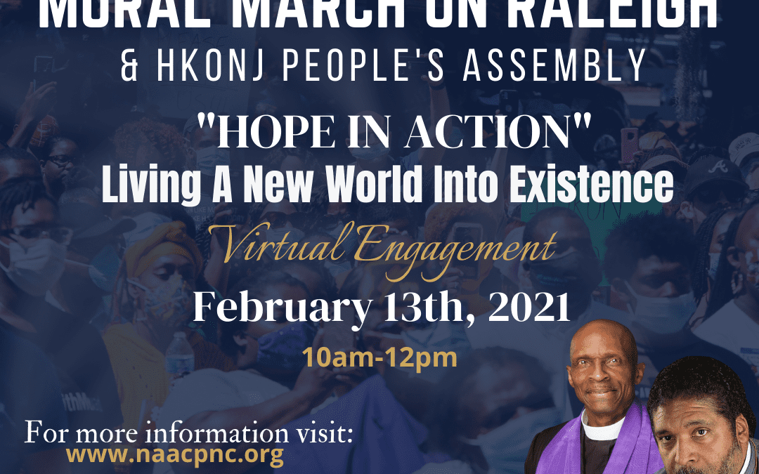 Hope In Action; HKonJ/ Moral March