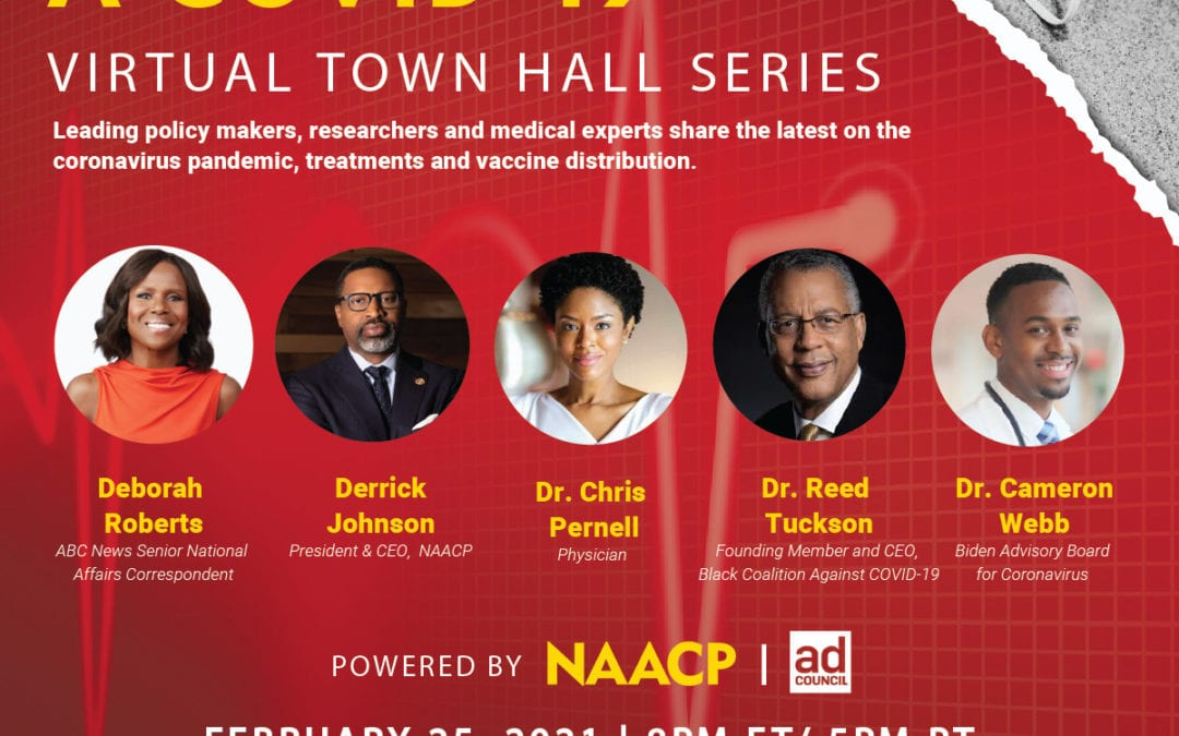 NAACP Set to Host COVID-19 Vaccine Town Hall Conversation